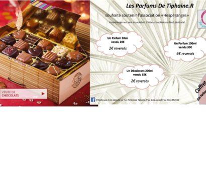 Ventes de Noël (Chocolats et Parfums)